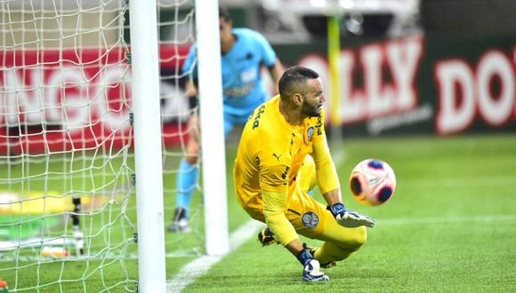 Weverton venció al cansancio y jugó con Palmeiras tras ganar con Brasil en Eliminatorias.