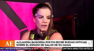 """Alejandra Baigorria anuncia mejoría de su mamá: """"Esperemos que continúe así"""""""