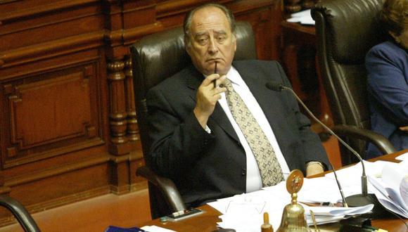 Ántero Flores-Aráoz confirma que será el primer ministro del presidente Manuel Merino. (Foto: GEC)
