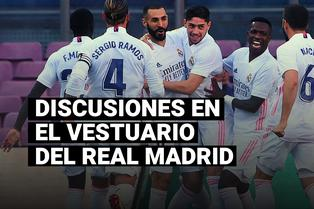 La pelea entre Sergio Ramos e Isco tras el triunfo del Real Madrid ante el Barcelona