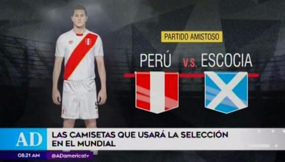 Camisetas de la selección peruana