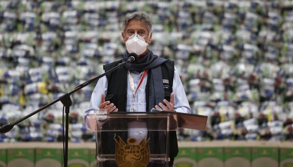 Francisco Sagasti se pronunció sobre el retiro de 4 UIT de las AFP. (Foto: Jorge Cerdán / GEC)
