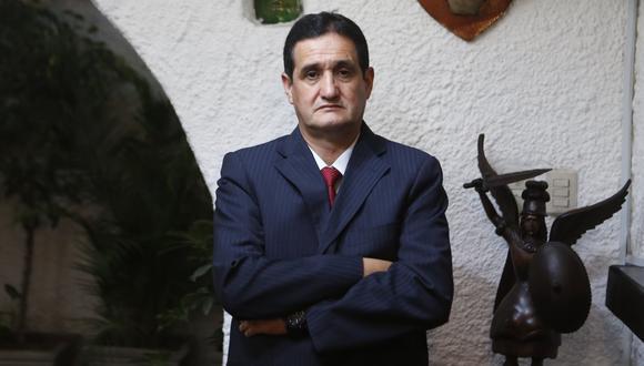 """""""Estamos presentando peritajes, se van a presentar en el informe oral"""", también señala Julio César Castiglioni, miembro del equipo legal de Fuerza Popular, respecto de los procesos de nulidad de actas. (Foto: GEC)"""