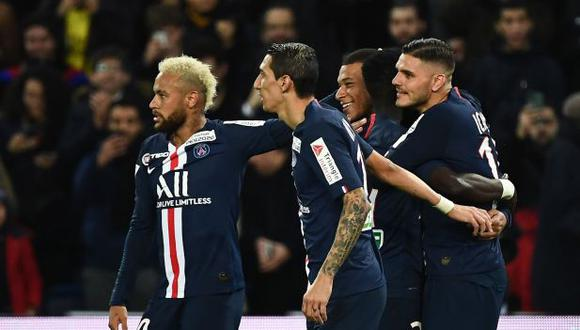 PSG humilló 6-0 al Saint-Étienne de Miguel Trauco por la Copa de la Liga de Francia: Icardi anotó triplete | Video