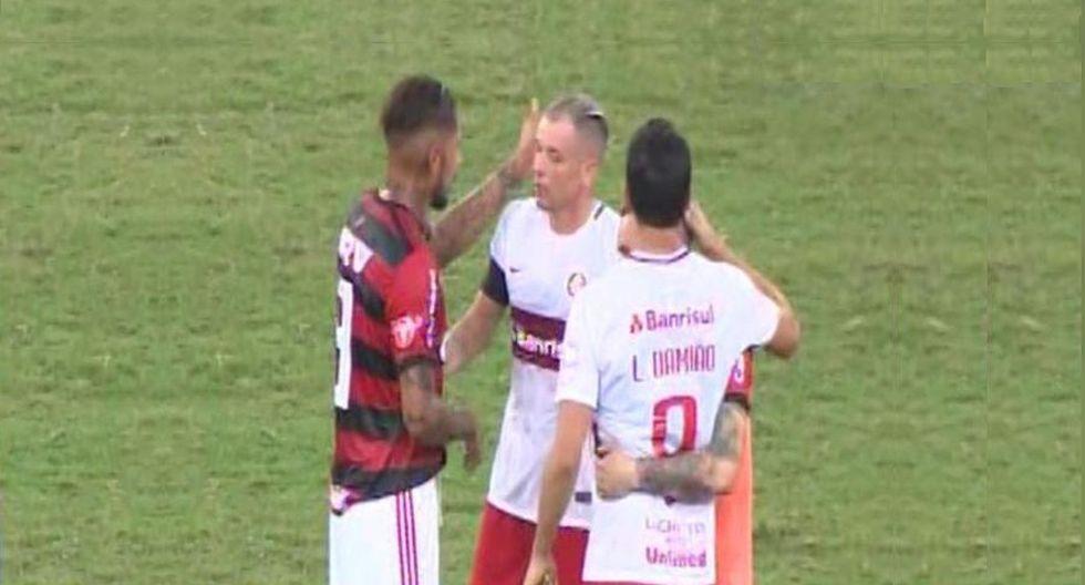 Paolo Guerrero reaccionó a sí ante el pedido de Andrés D'Alessandro
