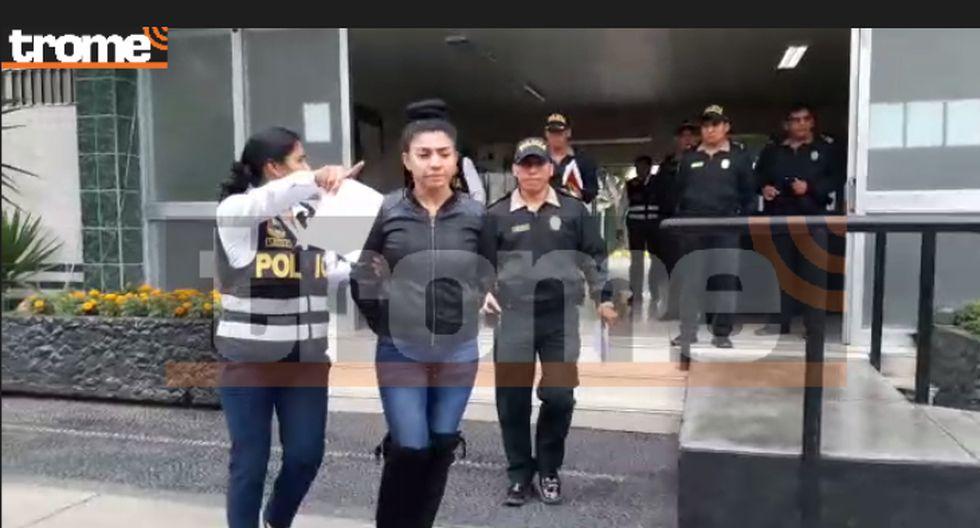 Diana Sánchez detenida