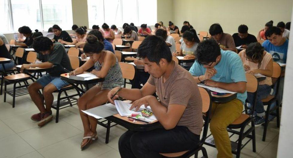 Este domingo se desarrolló un simulacro de examen de admisión a la Universidad San Marcos. (Foto: GEC)