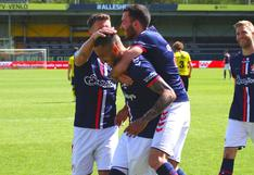 Sergio Peña anota gol salvador de FC Emmen para escapar de la baja [VIDEO]