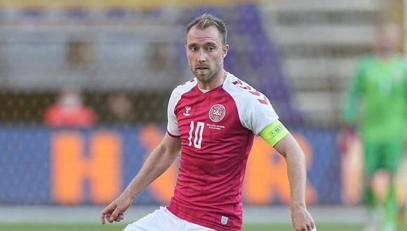 Christian Eriksen no terminó el partido ante Finlandia por la Eurocopa. (Foto: Agencias)