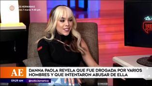 Danna Paola revela que fue drogada por varios hombres e intentaron abusar ella en Madrid
