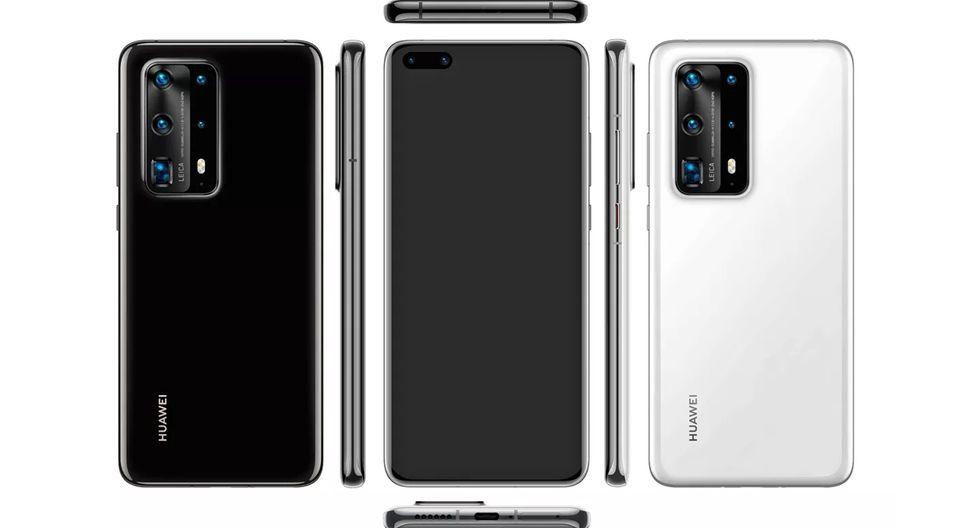Se revela el diseño final del Huawei P40 Pro y trae muchas novedades. (Foto: Evan Blass)