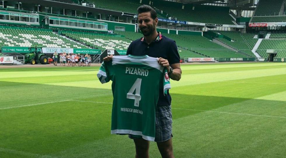 Claudio Pizarro en Werder Bremen