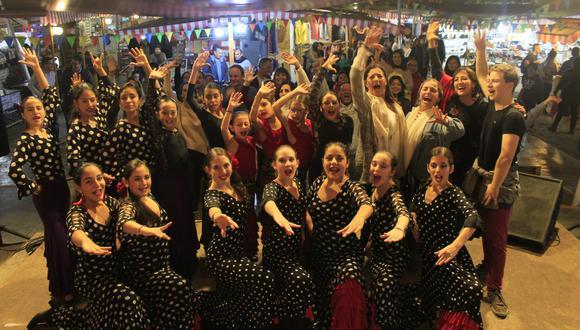 Clases de Flamenco y conciertos gratuitos en la Feria de Barranco. (Difusión)