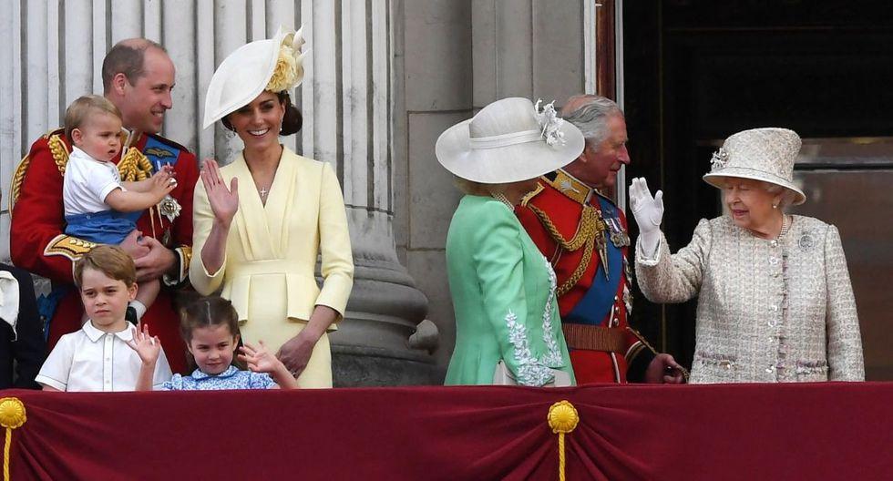 La duquesa tuvo que controlarse para evitar problemas