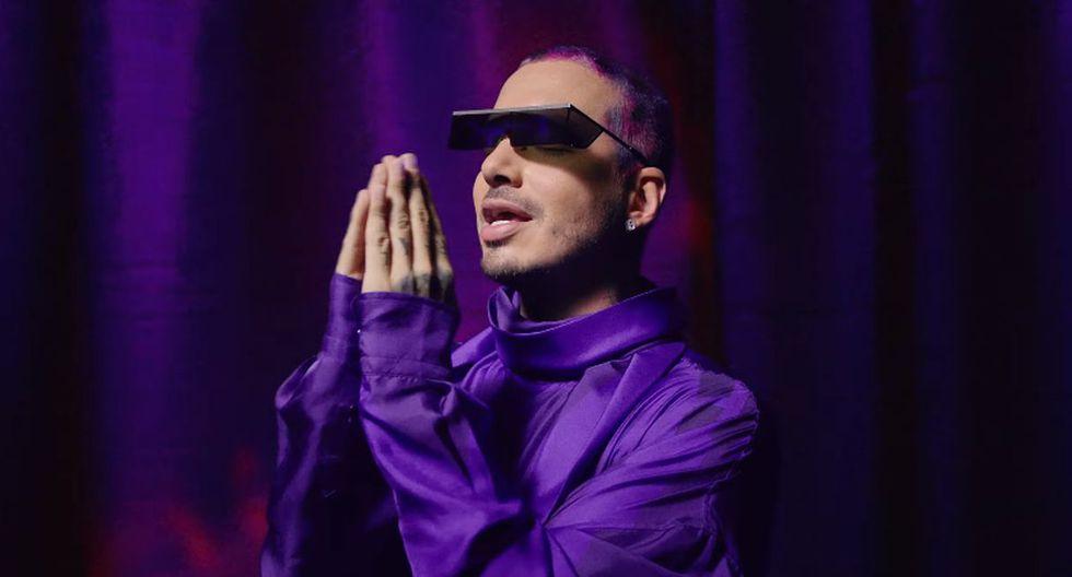 """J Balvin estrenó """"Morado"""" y este es el colorido videoclip de su pegajosa canción. (Foto: Captura de video)"""