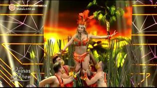 """Reinas del show: Paula Manzanal nos traslada a la selva bailando """"Siqui Siqui"""" y """"Salta Salta"""""""
