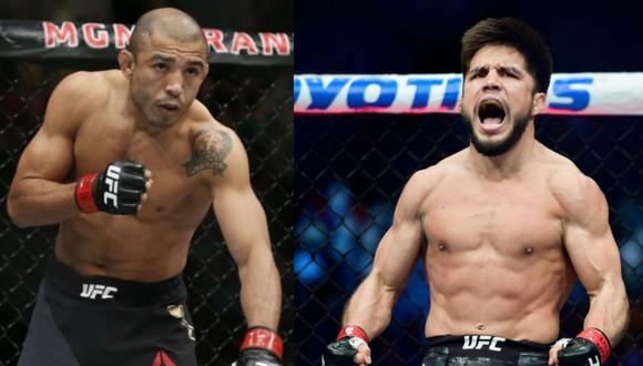 José Aldo ante Herny Cejudo en el UFC 250. (Fotos UFC)