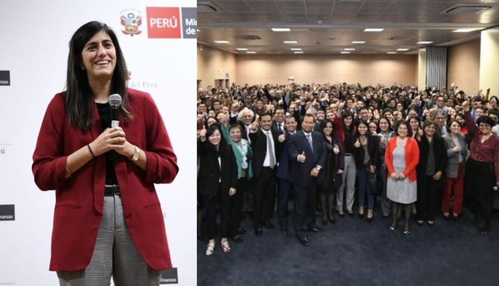 María Antonieta Alva: Ministerio de Economía y Finanzas dio cálida bienvenida a nueva ministra (FOTO: MEF)