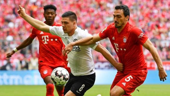 Luka Jovic regresa a la Bundesliga (Foto: EFE)