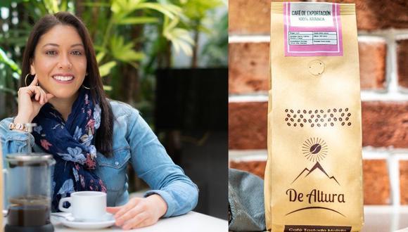 Stephanie Céspedes, fundadora de De Altura Café.
