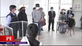 Arequipa: colegio de Condesuyos inició clases presenciales