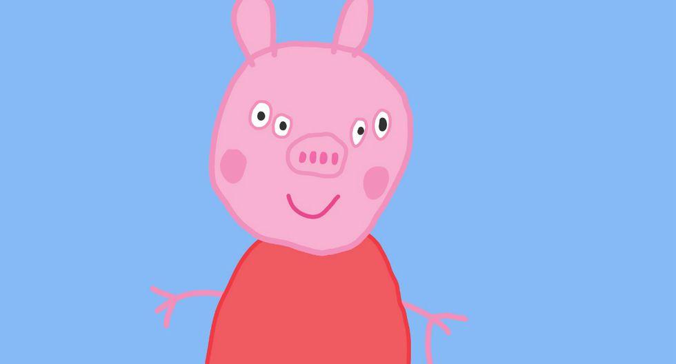Peppa Pig Y La Aterradora Imagen De Su Rostro Visto De Frente