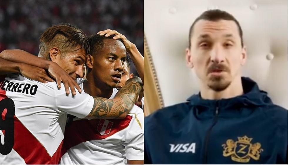 Zlatan Ibrahimovic se acordó de Perú en Campaña publicitaria.