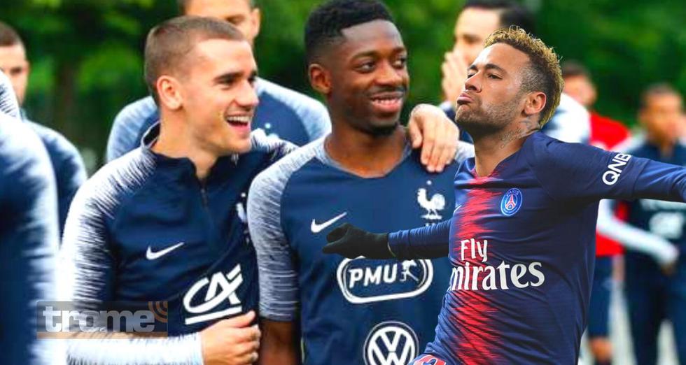 Dembélé genera crisis en regreso de Neymar a Barcelona