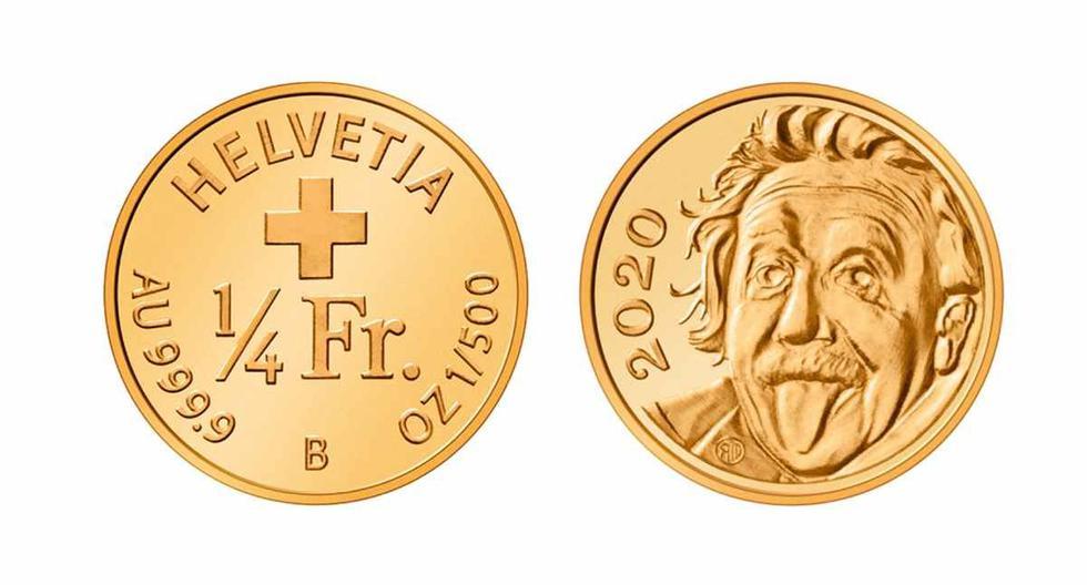 Swissmint desarrolló una caja especial con lupas y una fuente luminosa para poder apreciar la moneda, cuyos ejemplares se vendieron en un abrir y cerrar de ojos. (Foto: Twitter)