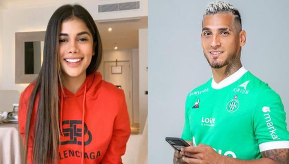 Valeria Roggero y Miguel Trauco estuvieron juntos en un restaurante de Italia. (Instagram)