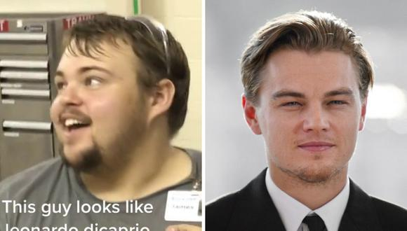 Muchos sostienen que James Reynolds es muy parecido a la versión juvenil de Leo DiCaprio. (Foto: @cody_the_prodigy / Francois Guillot / AFP)