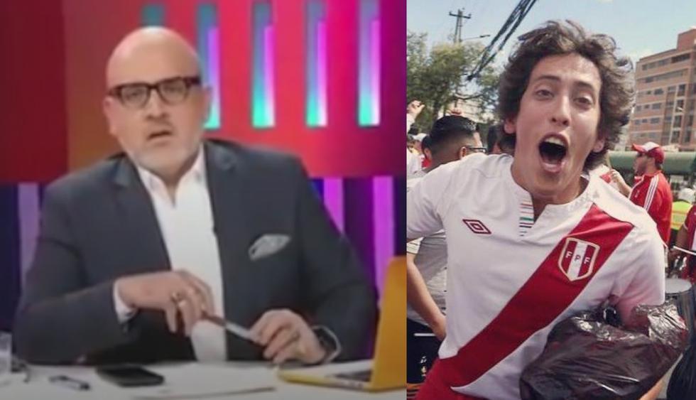 "Beto Ortiz llamó ""mocoso"" a Mateo Garrido Lecca."
