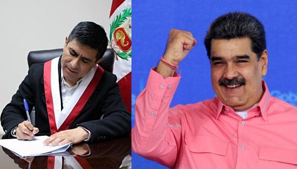 Congresista también afirmó que Nicolás Maduro fue elegido democráticamente. (Facebook / Agencias)