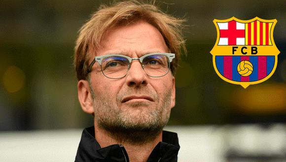 Barcelona respondió polémico comentario de Jürgen Klopp.