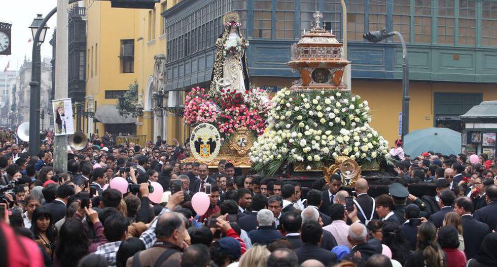 La procesión recorrerá varias calles del Centro de Lima. (El Comercio)