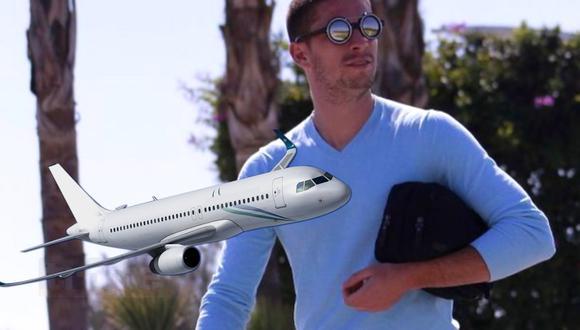 Santiaga Ormeño llega este viernes en Aeroméxico (Foto: Instagram)