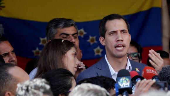 """Juan Guaidó anuncia que """"entró"""" al país ayuda humanitaria por frontera con Brasil. (Foto: EFE)"""