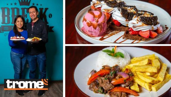 'Break Lounge Café' está ubicado en Los Olivos. (Foto: Trome)