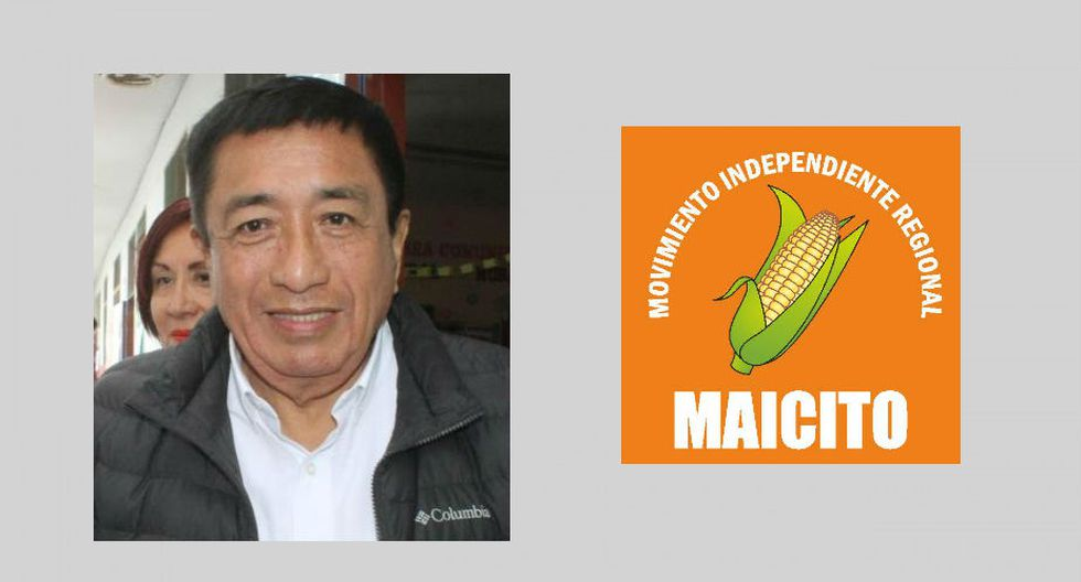Áncash: Juan Rebaza, del Movimiento Regional El Maicito. (Foto: Perú Voto informado)
