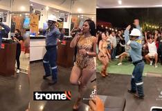 TikTok: ingeniero bailando una cumbia de la selva se vuelve viral y todos lo aplauden