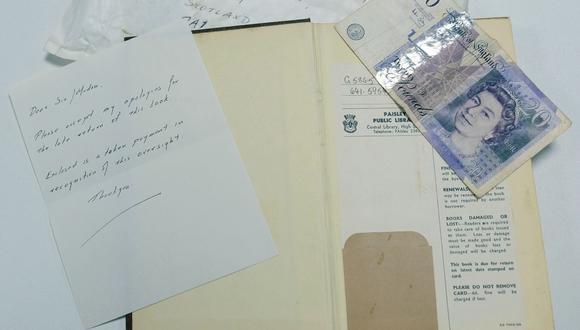 Devuelve un libro a la biblioteca con más de 50 años de retraso. (Foto: renfrewshireleisure)