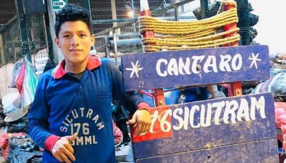Joven peruano Silvano Oblitas Cántaro encontró trágico final en Colombia. (Redes sociales)