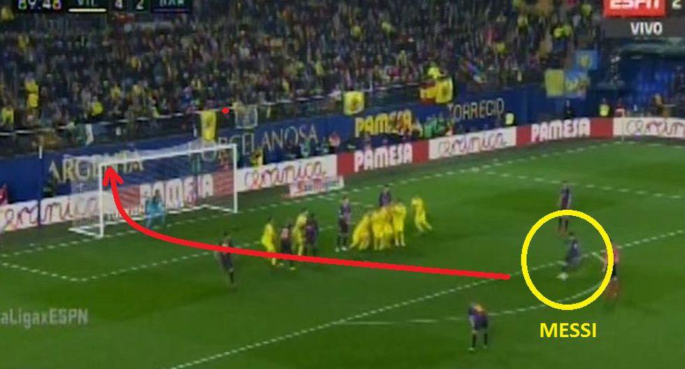 Gol 3 de Barcelona