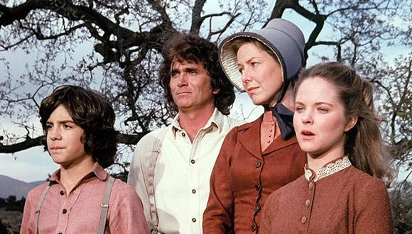 Actores de La Familia Ingalls durante las grabaciones de la serie (Foto: IMDB)