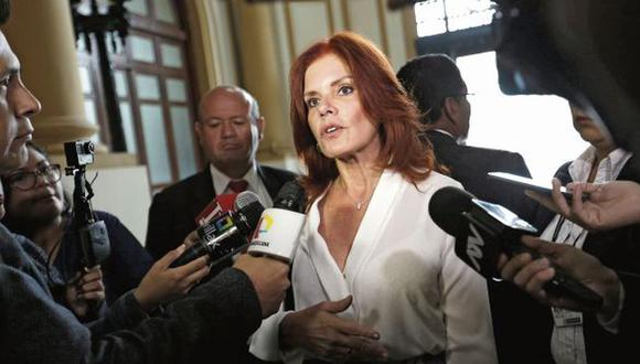 Exministra de Economía y Finanzas, Mercedes Aráoz.