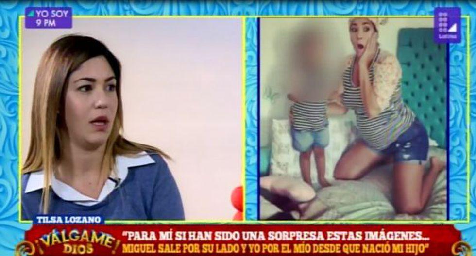 """Tilsa Lozano cuenta su verdad sobre Miguelón: """"Me duele muchísimo que le digan mantenido"""""""