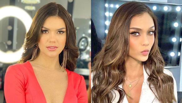 Yely Rivera, representante de Arequipa, ganó la corona del Miss Perú y se convirtió en la sucesora de Janick Maceta. (Foto: @yelyrivera_/@janickmaceta).