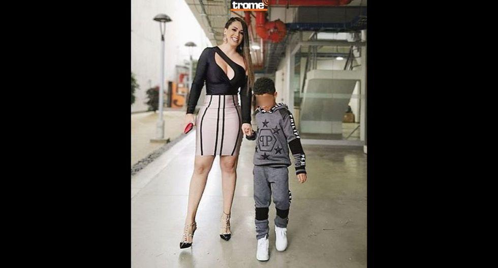 Melissa Klug y su hijo en Instagram - T