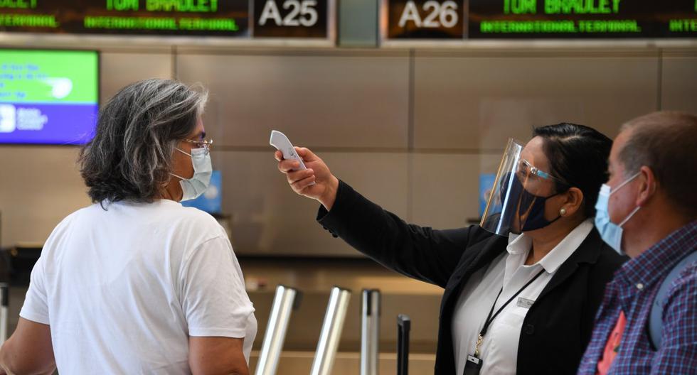 Viajeros que lleguen a Estados Unidos deberán hacer cuarentena
