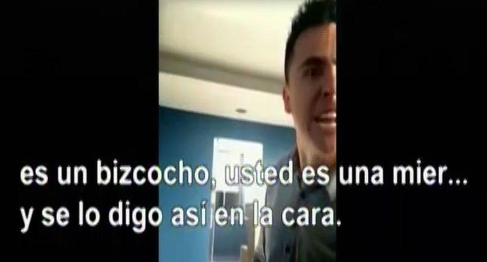 """Colombiano humilla y discrimina racialmente a peruana: """"Eres bien fea como para yo tocarte"""""""